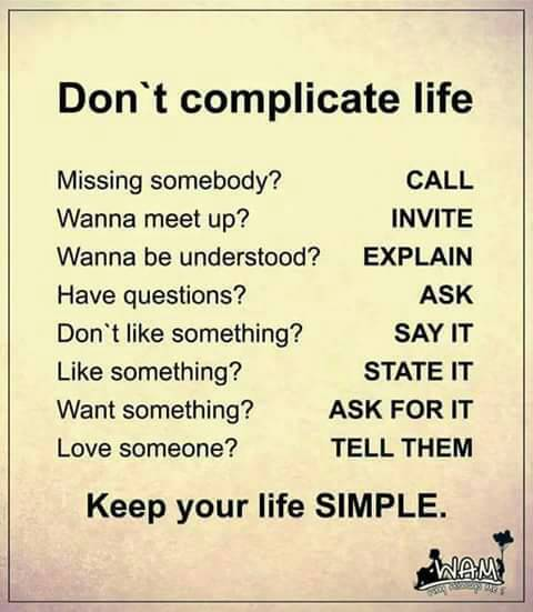 Life Is So Easy Quotes: Keep You Life Simple