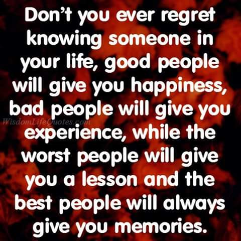 Good, bad, worse, best - people inspiration and quotes ...
