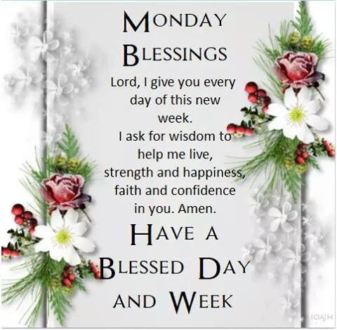 Image result for monday blessings
