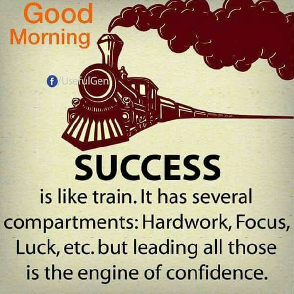 Good Morning Success Is Like A Train Humor Jokes Memes Trolls