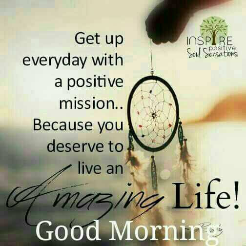 good morning messages amazing life